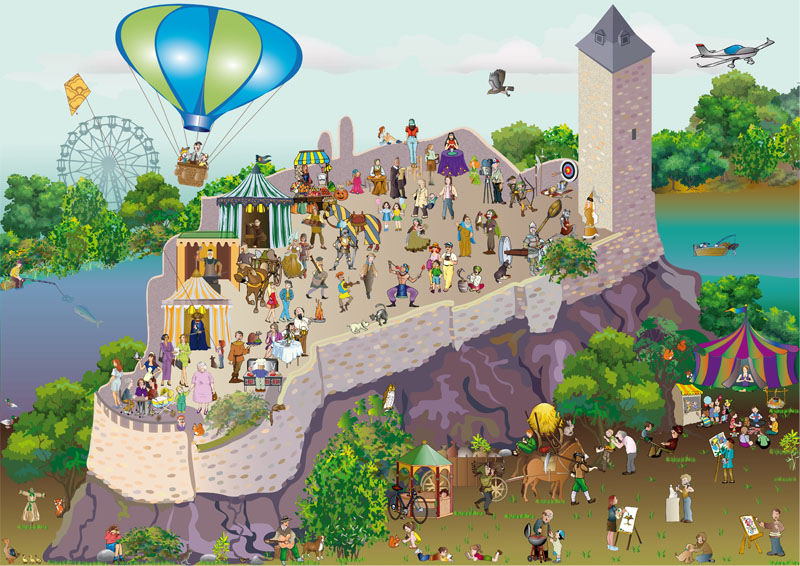 Die Burg Giebichenstein