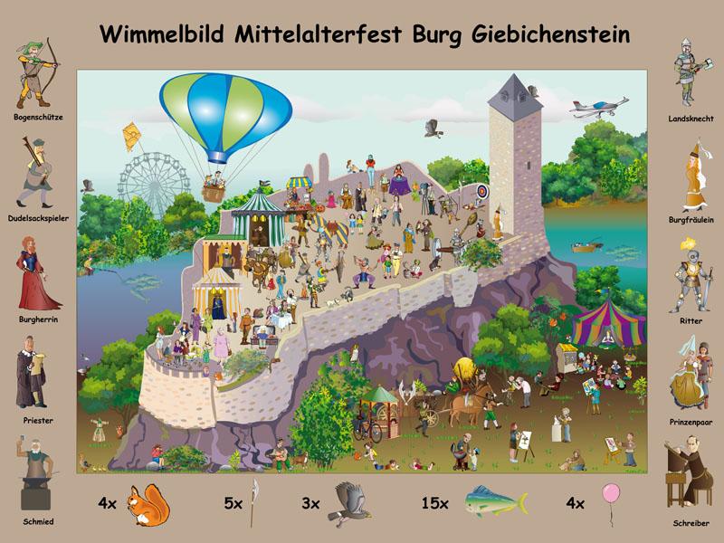 Giebichenstein Plakat