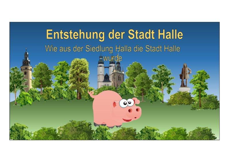 Die Entstehung der Stadt Halle [2]